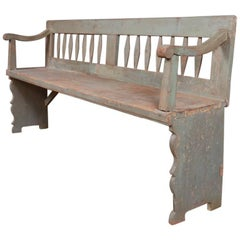 French Primitive Bench