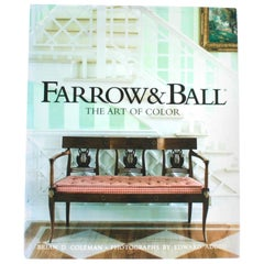 Farrow & Ball: The Art of Color by Brian D. Coleman, First Edition