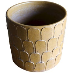 """""""Leaf Pattern"""" Planter by David Cressey for Architectural Pottery"""
