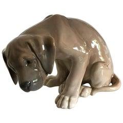 Royal Copenhagen Figurine of Dog BOB No. 318