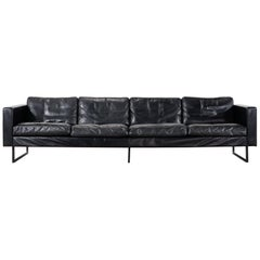 Carl Auböck Cubus Sofa, Extremely Rare Three-Seat by COR Germany, circa 1960