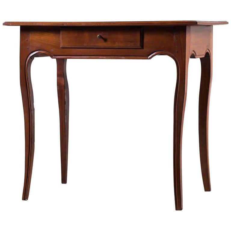 Antique French Louis XV Cherrywood Table, circa 1790