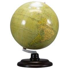 Globe by Politichia Erdglobus, circa 1930