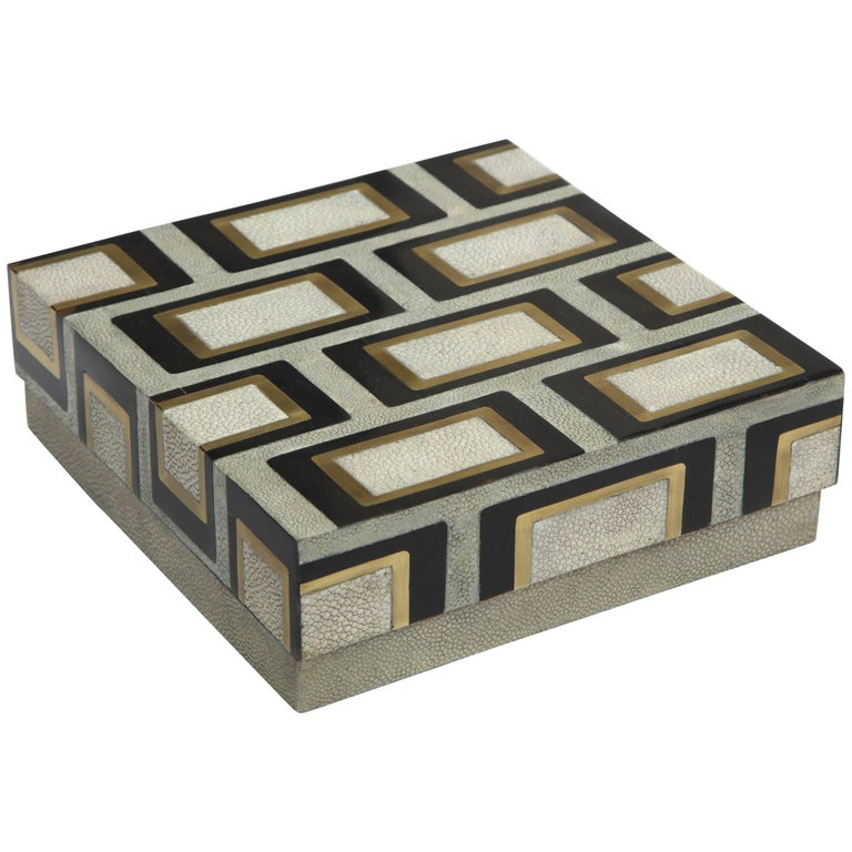Shagreen Box Offered by Area ID For Sale
