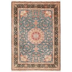 Large Fine Vintage Tabriz Persian Rug