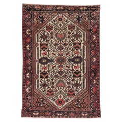 Antique Persian Bakhtiari Rug with Modern Style
