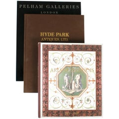 Three Antique Furniture Gallery Catalogues