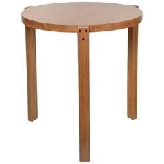 """Girafa"" Modern Low Side Table Handmade Brazilian Design"