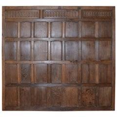 Single 18th Century Oak Panel