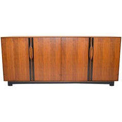John Kapel Walnut Credenza for Glenn of California