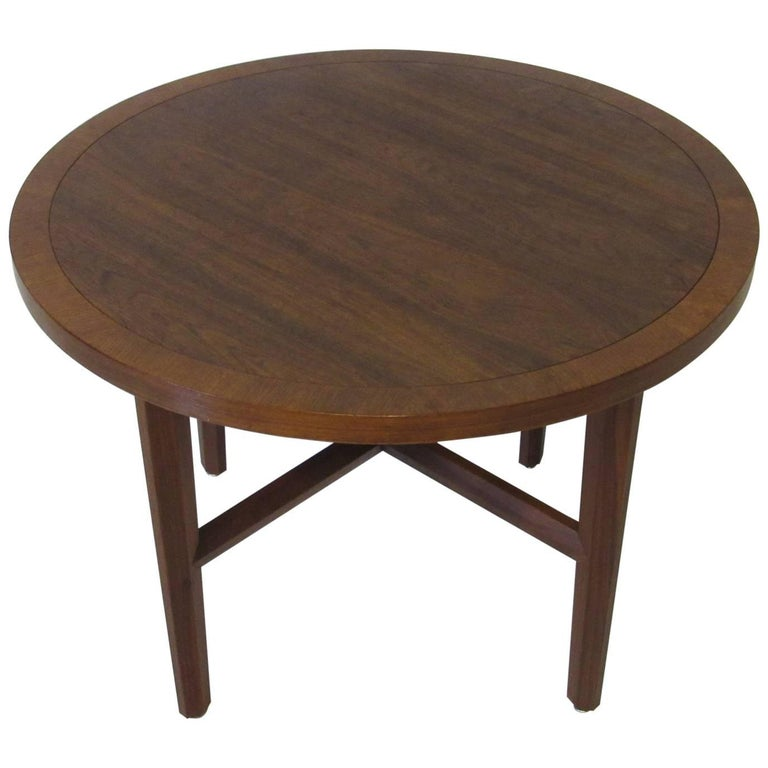 George Nakashima Walnut Side or Lamp Table for Widdicomb's Origins Collection