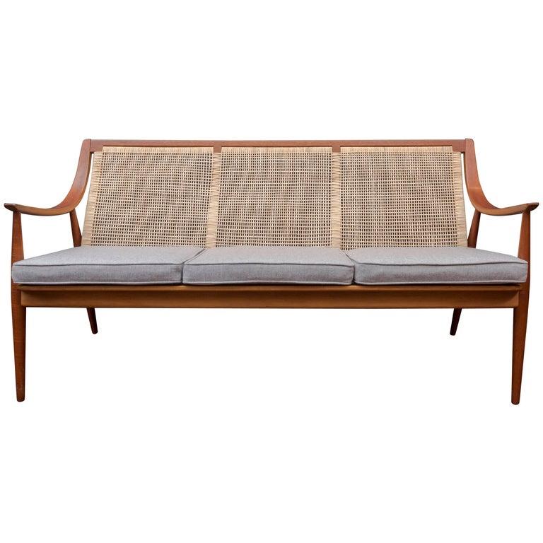Danish Sofa by Peter Hvidt and Orla Mølgaard-Nielsen For Sale