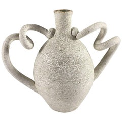 Contemporary Ceramic Amphora Vase No. 194 by Yumiko Kuga