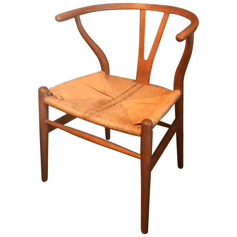 Early Hans Wegner ch 24 Wishbone Chair