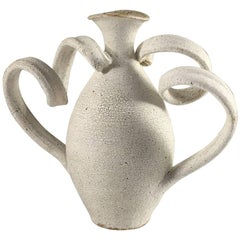 Contemporary Ceramic Amphora Vase No. 206 by Yumiko Kuga