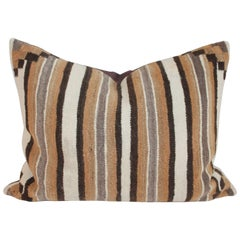 Navajo Indian Saddleblanket Weaving Pillow