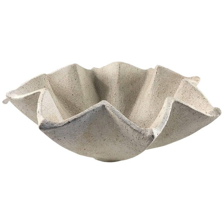 Contemporary Ceramic Star Bowl No. 213 by Yumiko Kuga