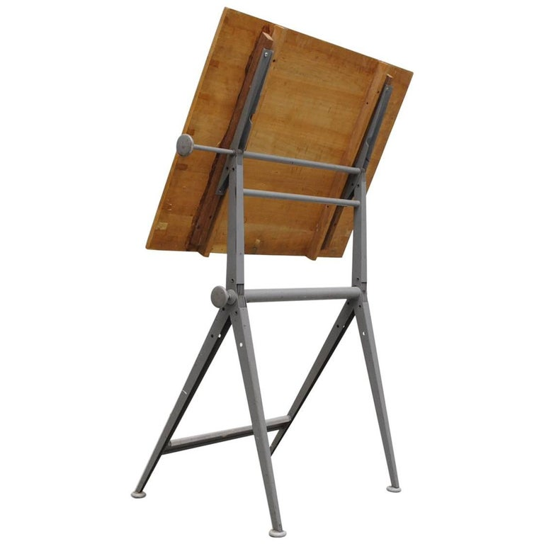 "Wim Rietveld and Friso Kramer ""Reply"" Drafting Table by Ahrend de Cirkel"