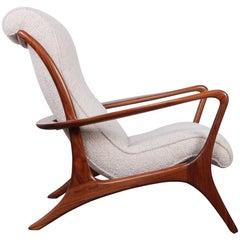 Vladimir Kagan High-Back Contour Lounge Chair