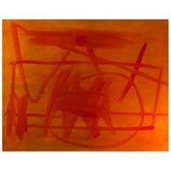 "Albert Chubac, ""La Parade"", Rare Oil on Canvas, 1957, France"