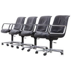Wilkhahn Delta Series Office Chair Set of Four