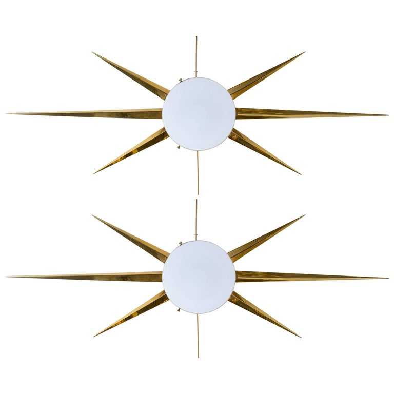 Pair of Sconces Attributed to Gio Ponti