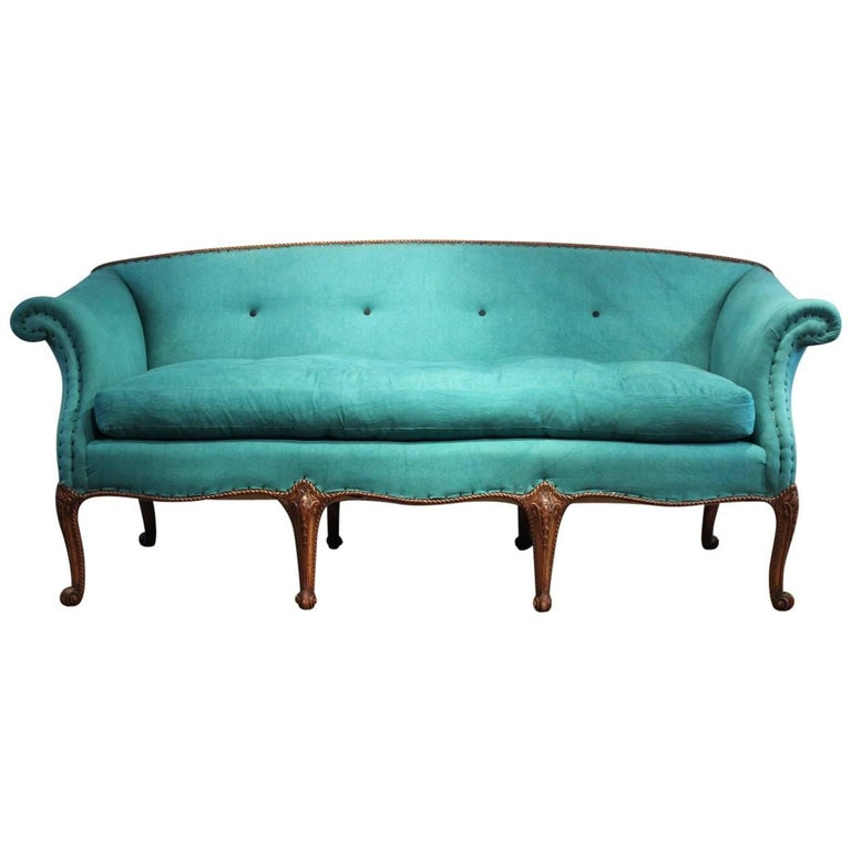 Superb 19th Century English Country House Sofa