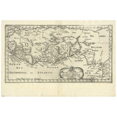 Antique Map of West Africa by N. Sanson, 1656