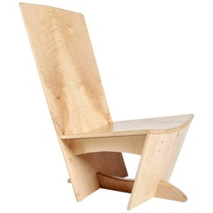 Verpozen Chair in English Sycamore by Koomen