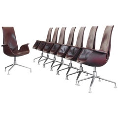 Set of Eight FK 6725 Tulip Chairs by Fabricius & Kastholm Kill International