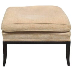 Rob Johns Gibbons Style Upholstered Footstool
