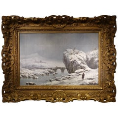 Giuseppe De Nittis, Snow Landscape