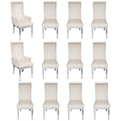 Set of 12 Vintage Charles Hollis Jones Dining Chairs