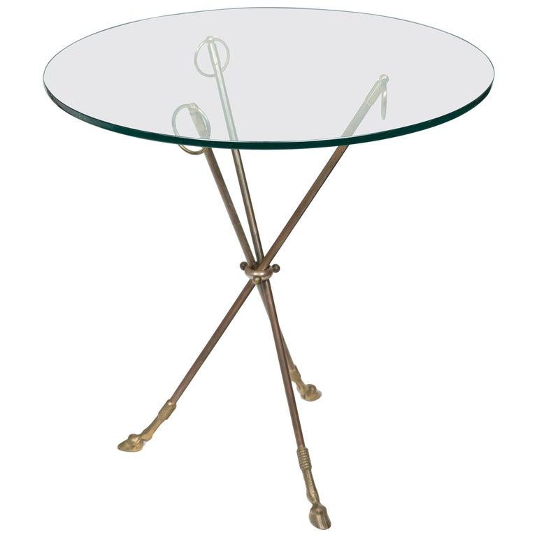 1980s Italian Classical Tripod Table