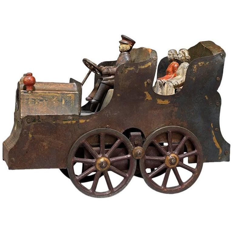 Unique Folk Art Toy Vehicle