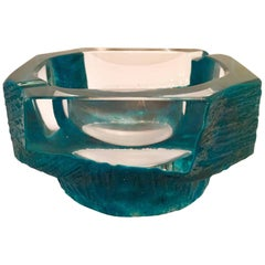 Cesar Baldaccini for Daum 1970s Crystal Bowl