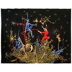 Aubusson-Wandbehang von Marc Petit für Atelier Raymond Picaud