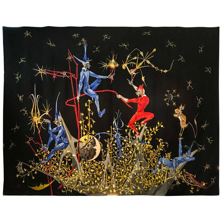 Marc Petit Tapestry by Atelier Raymond Picaud, Aubusson