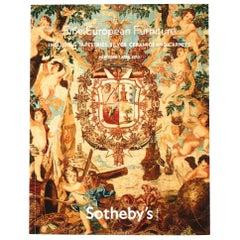 Sotheby's Auction Catalogue: Fine European Furniture