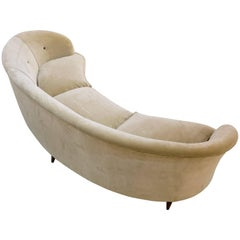 Gio Ponti Curved Three-Seat Sofa, 1940
