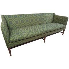 Kaare Klint Style Sofa in Folk Weave Fabric