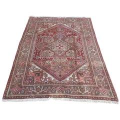 Early 20th Century Persian Heriz Rug