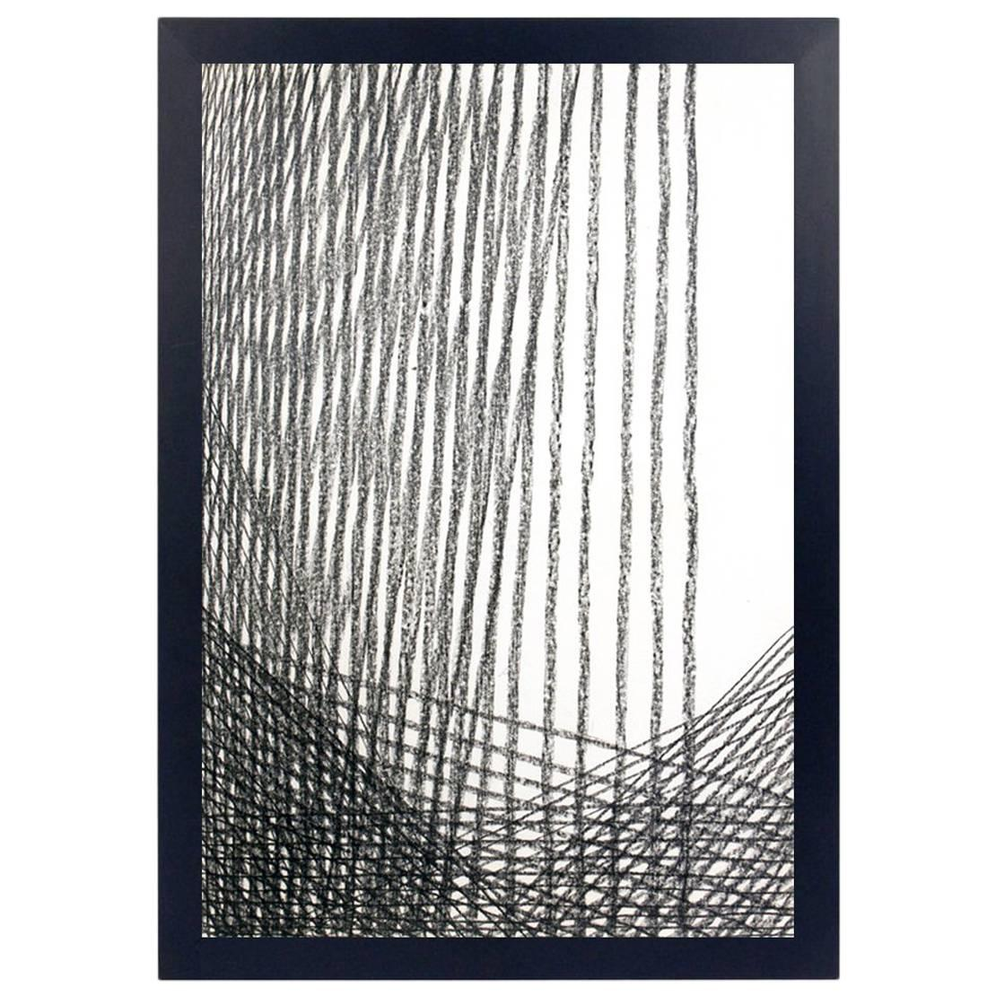 Abstract Charcoal Drawing by Miriam Kubach