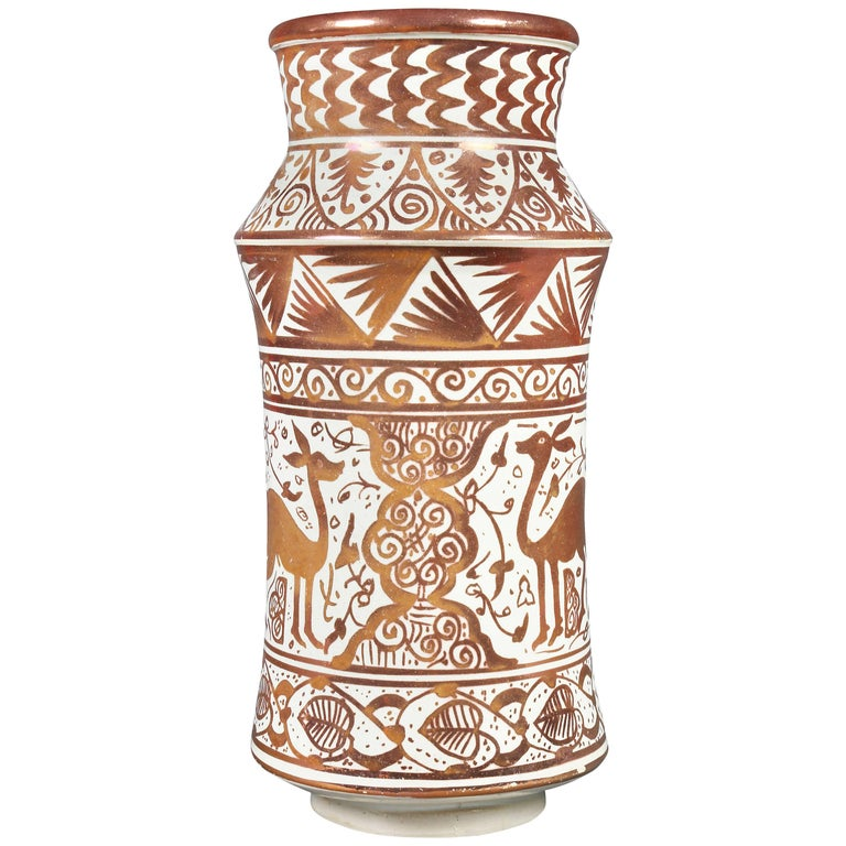 Hispano-Moresque Pottery Vase