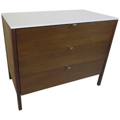 Florence Knoll for Knoll Three-Drawer Cabinet with Silestone Top