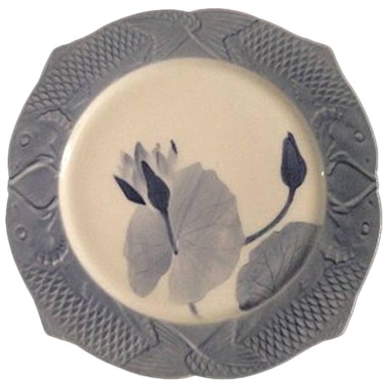 Royal Copenhagen Art Nouveau Fish Plate 1