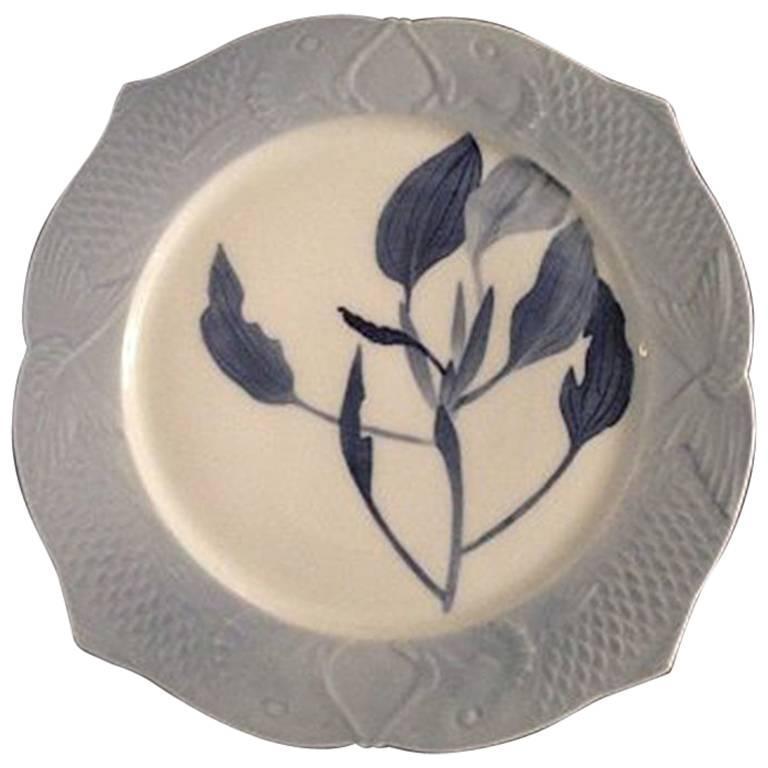Royal Copenhagen Art Nouveau Fish Plate 2