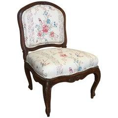 French Louis XV Period Slipper Chair