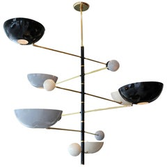 "Sculptural Italian ""Mobile"" Chandelier"