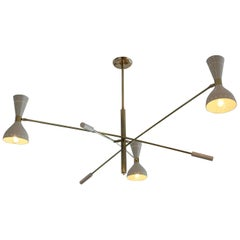 Italian Articulating Ceiling Light